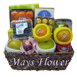 Chinese New Year Fruit Baskets Hampers 111-cny-basket