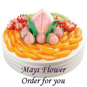 Birthday Cakes Hong Kong Delivery Fast Mays Flower Shop
