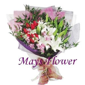 Lilies Bouquet lily2133