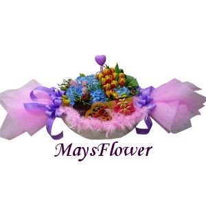 Birthday Flower choc0303