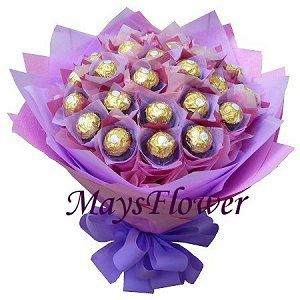 金莎花束 chocolate-bouquet-0101