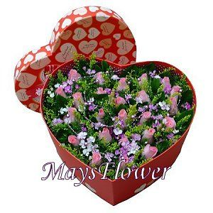 Flower Box  arrangement-1013