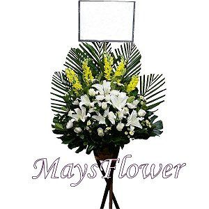 Funeral Flower Basket funeral-flower-011