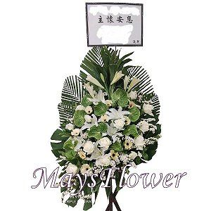 Funeral Flower Basket funeral-flower-116
