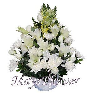 Funeral Flower Basket funeral-flower-118