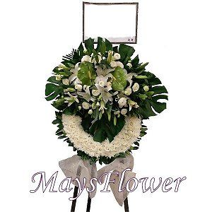 Funeral Flower Basket funeral-wreaths-024