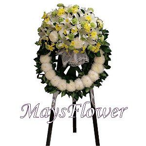 Funeral Flower Basket funeral-wreaths-220