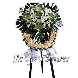 Funeral Flower Basket funeral-wreaths-221