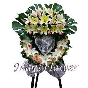 Funeral Flower Basket funeral-wreaths-222