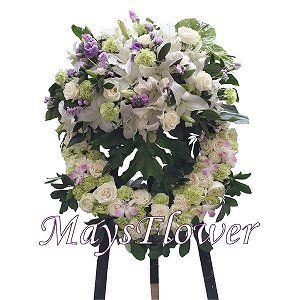 Funeral Flower Basket funeral-wreaths-227