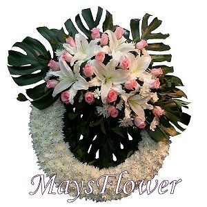 Funeral Flower Basket funeral-wreaths-317