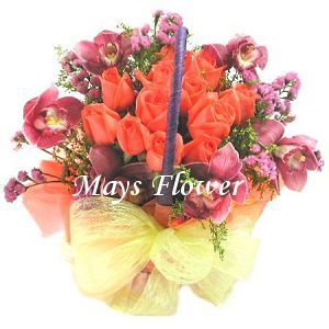 Flower Arrangement Basket - getw0220