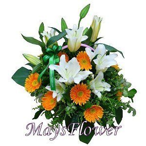 Get Well Flower Basket  getwell-basket-007