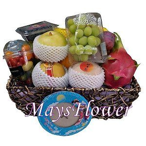 Mid-Autumn Fruit Basket moon204