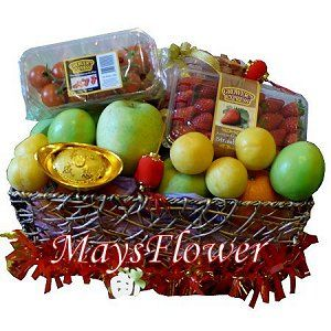 Chinese New Year Fruit Baskets Hampers 121-cny-basket