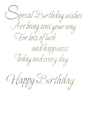 Birthday Cards / Greeting Card card5122