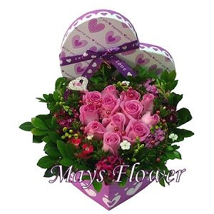 Flower Arrangement Gift - arrangement-1010