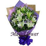 Lilies Bouquet lily7039