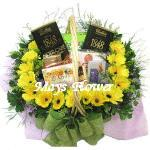 Birday Flower Bouquet  choc0300