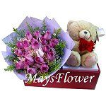 Flower Arrangement Gift arrangement-1030