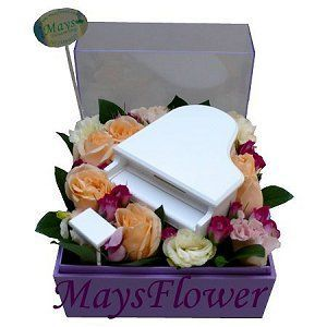 Flower Box  arrangement-1035