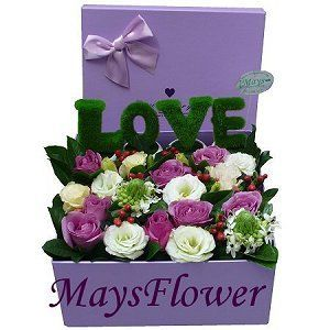 Flower Box  arrangement-1023
