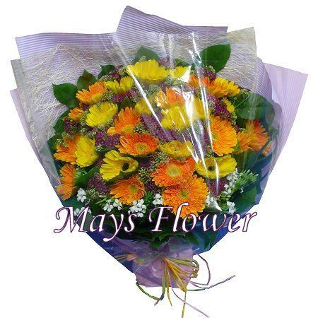 Gerbera Bouquet - gerbera-bouquet-020